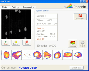 P-PhOS - pitted prunes sorter software
